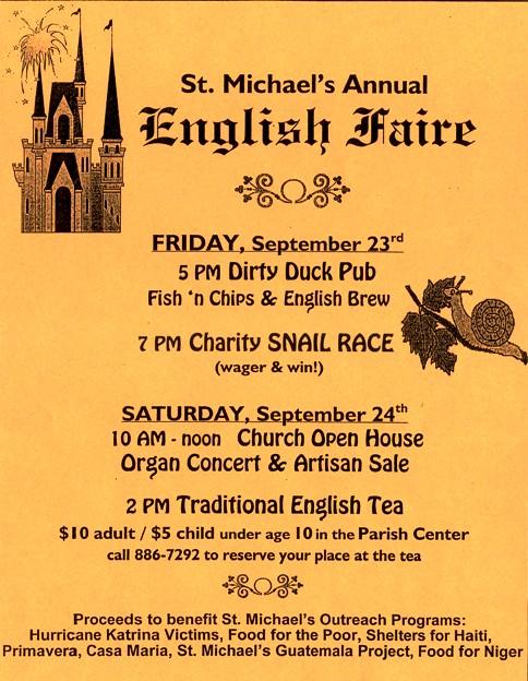 English Faire